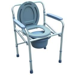Scaun WC de camera din aluminiu