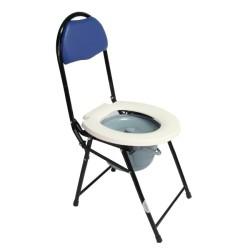 Scaun cu WC si spatar