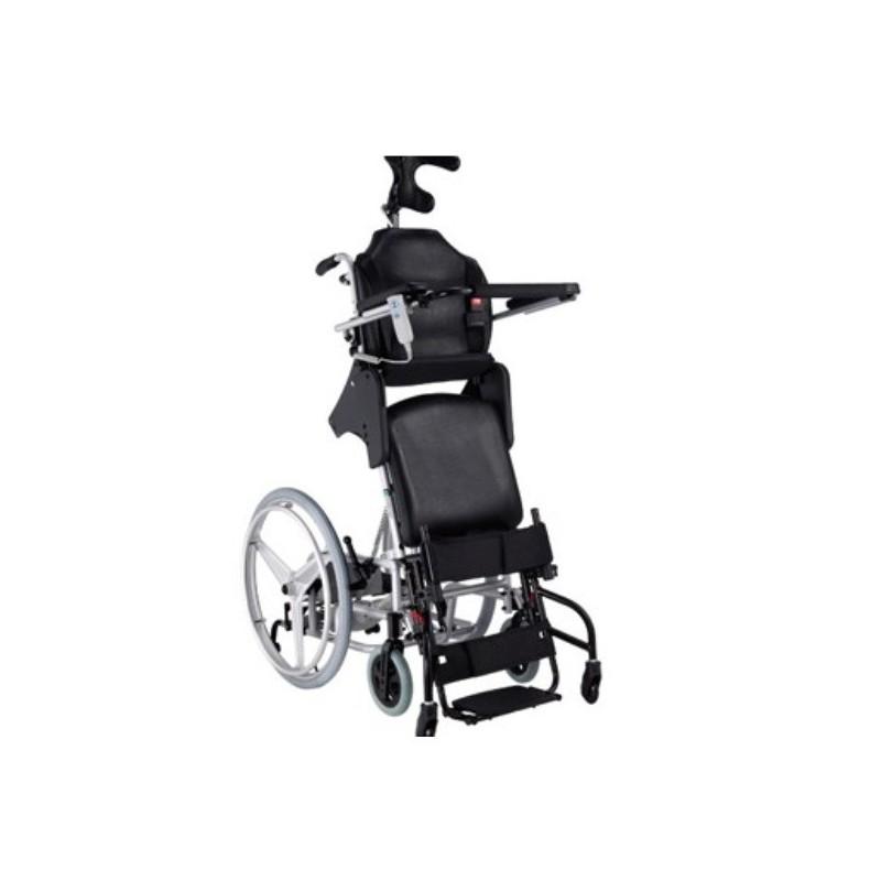 scaun cu rotile cu verticalizare