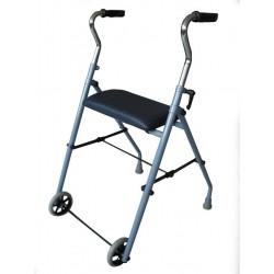 Rolator ortopedic din aluminiu, cu 4 roti